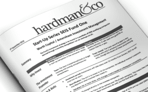 Start-Up Series SEIS Fund One Hardman&Co review