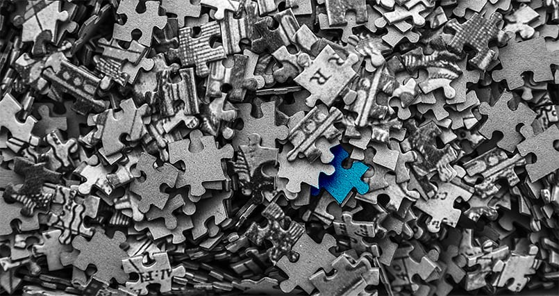 Investor Blog by Matthew Cushen: Backing a growth market - single puzzle piece in a pile