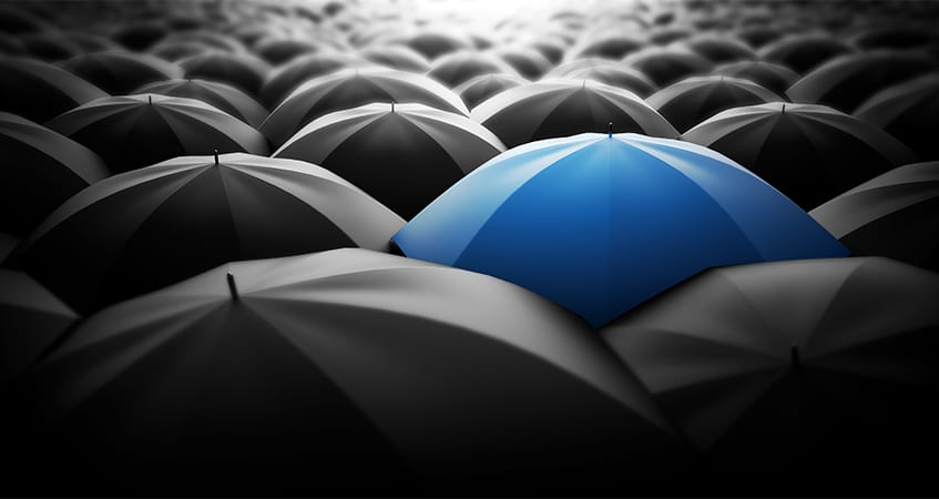 Investor Column by Matthew Cushen: A time and place for crowd-funding - blue umbrella
