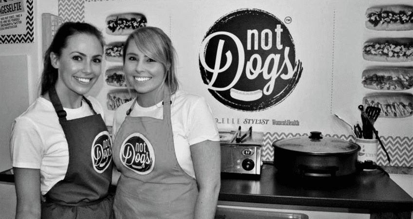 Katie McDermott and Jane Yates: co-founders of Not Dogs and winners of The Start-Up Series